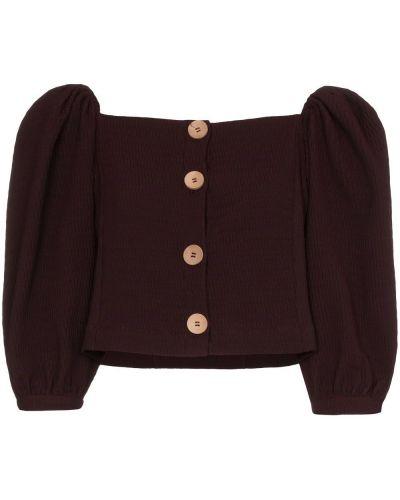Блузка с рюшами на резинке N Duo