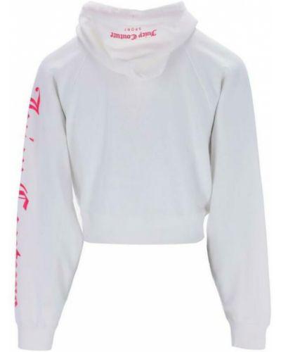 Biała bluza z długimi rękawami Juicy Couture
