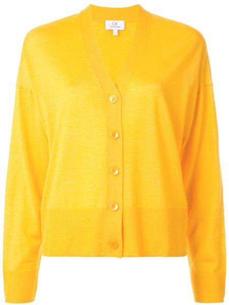 Кардиган - желтый Ck Calvin Klein