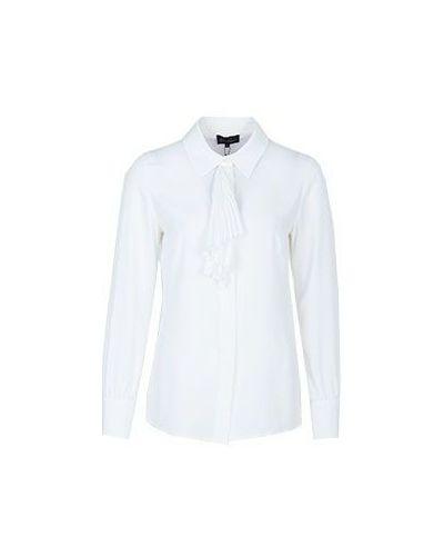 Блузка классическая приталенная плиссированная Luisa Spagnoli