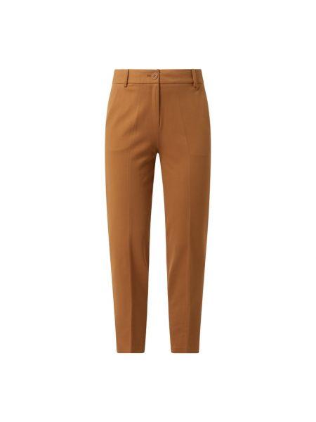 Brązowe spodnie materiałowe Esprit Collection