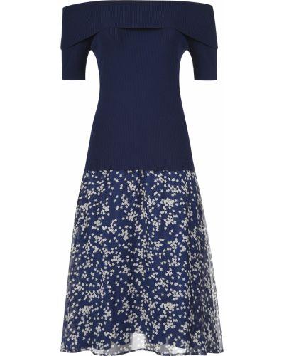 Платье шелковое из вискозы P.a.r.o.s.h.