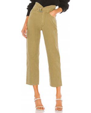Spodnie-banany z kieszeniami khaki Marissa Webb