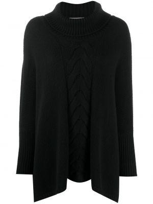 Кашемировый свитер - черный N.peal