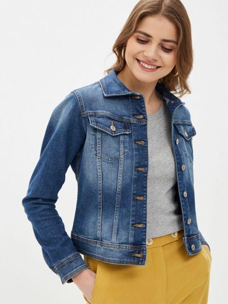 Синяя джинсовая куртка United Colors Of Benetton