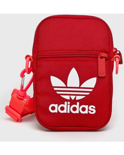 Мерцающая текстильная сумка через плечо Adidas Originals