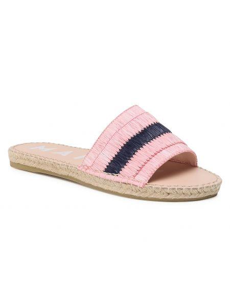 Niebieskie sandały espadryle Manebi