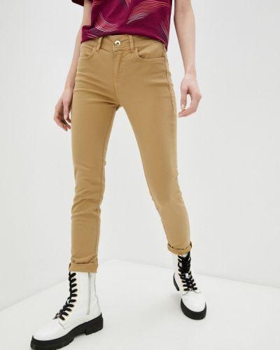 Повседневные коричневые брюки Colcci
