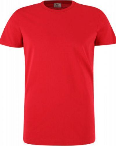 Прямая хлопковая красная футболка Gsd