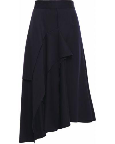 Шерстяная юбка миди Chalayan