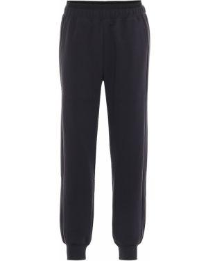 Spodnie bawełniane - czarne Lndr