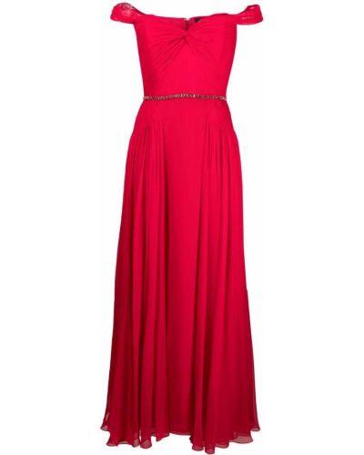 Sukienka z jedwabiu Jenny Packham