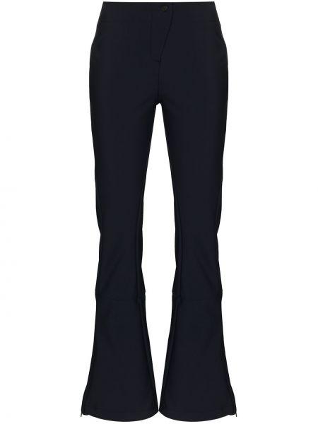 Niebieskie spodnie wełniane Fusalp