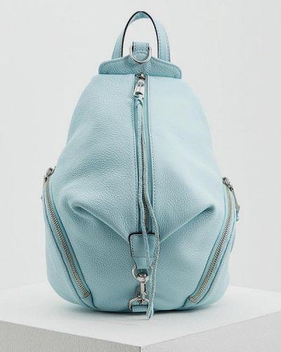 Голубой рюкзак Rebecca Minkoff