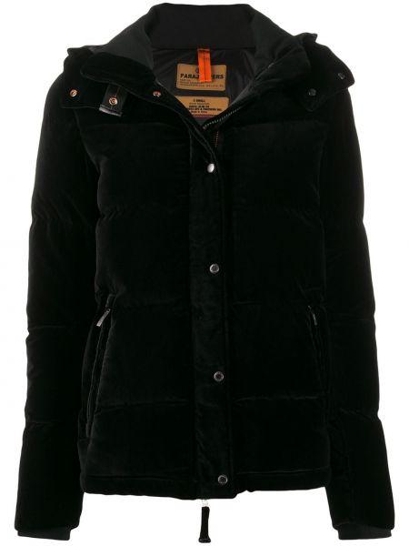 Черная куртка с капюшоном Parajumpers
