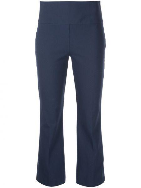 Синие брюки расклешенные Theory