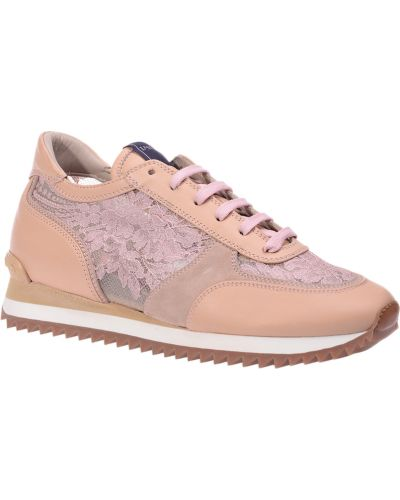 Бежевые кроссовки Le Silla