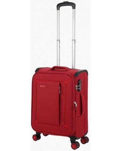 Красный чемодан Baudet