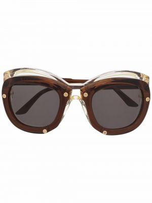 Солнцезащитные очки - коричневые Kuboraum