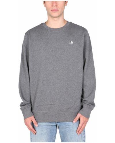 Szara bluza dresowa Moose Knuckles