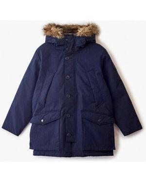 Куртка теплая синий Gap