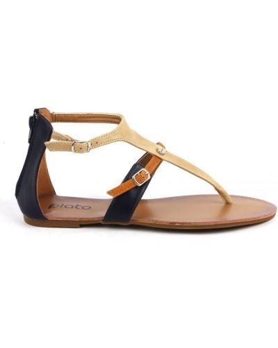 Кожаные сандалии Plato