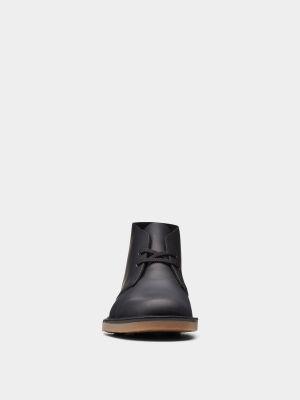 Ботильоны на шнуровке - черные Clarks