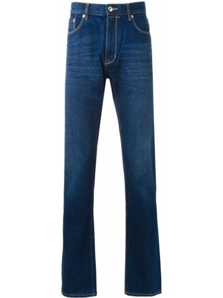 Klasyczne niebieskie jeansy bawełniane Kent & Curwen