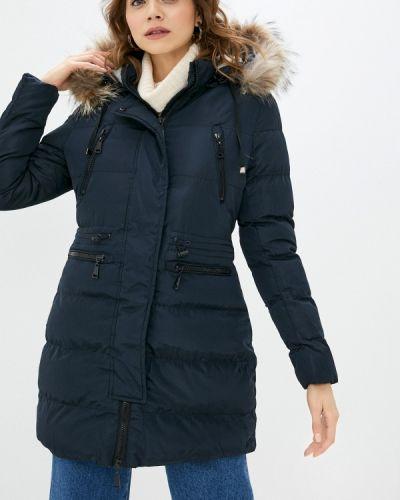 Утепленная синяя куртка Macleria