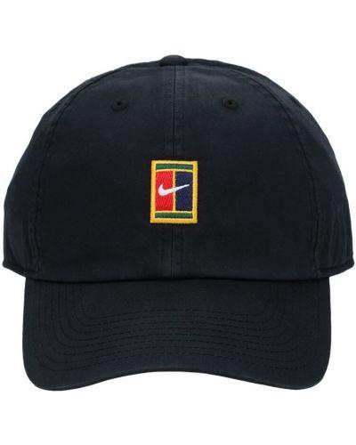 Z paskiem czarny czapka z daszkiem z haftem Nike