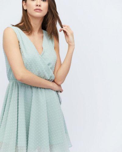 Платье весеннее бирюзовый Carica&x-woyz