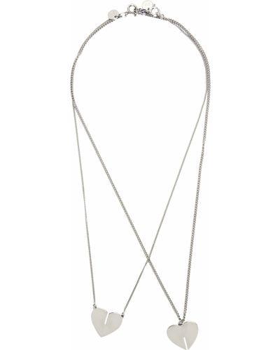 Naszyjnik srebrny Dheygere