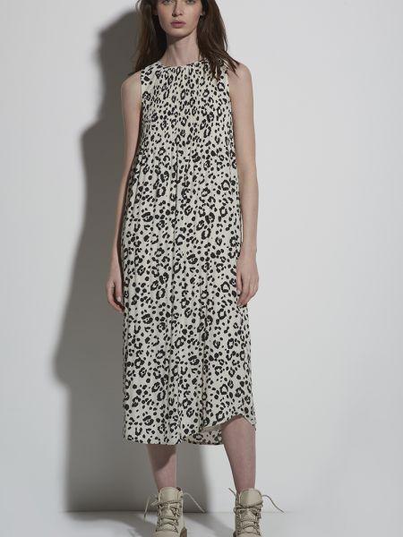 Платье мини со складками с рукавами Vassa&co