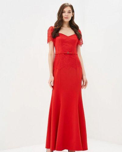 Вечернее платье красный X'zotic