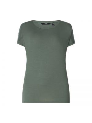 Zielony t-shirt Vero Moda Curve