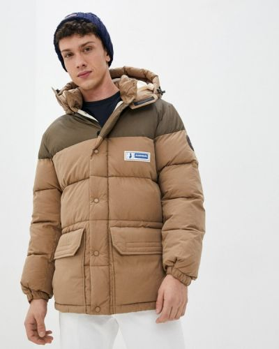 Бежевая утепленная куртка Napapijri