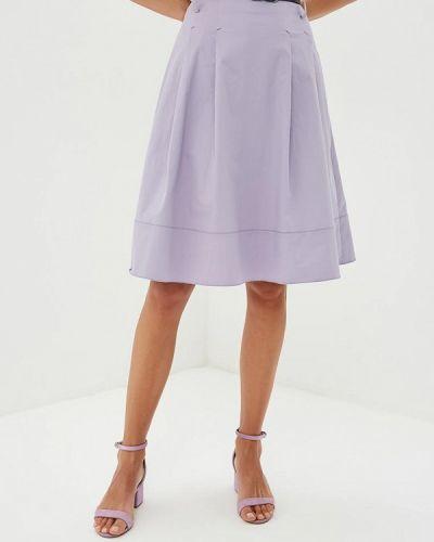 Юбка широкая фиолетовый Calista