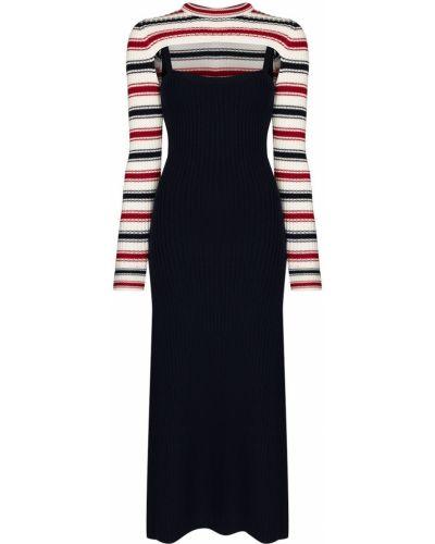 Платье макси с длинными рукавами - белое Rosie Assoulin