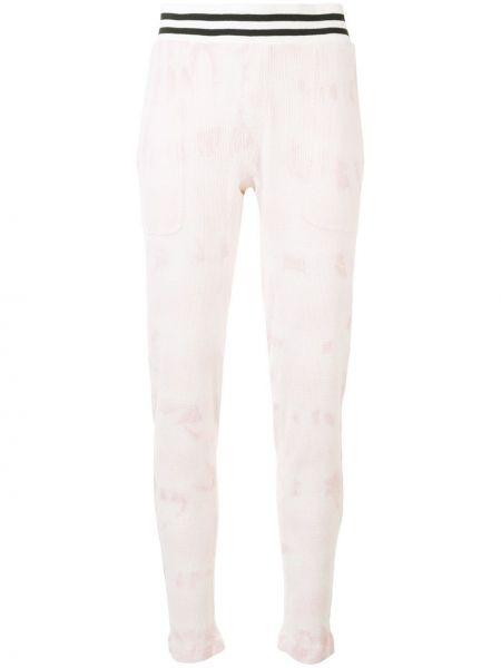 Спортивные брюки розовый в полоску Electric & Rose