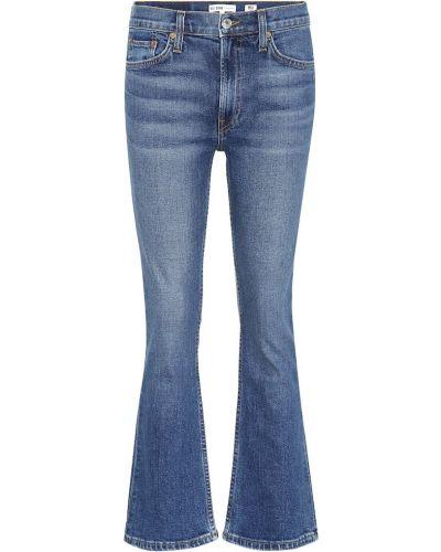 Rozbłysnął niebieski bawełna bawełna jeansy do kostek Re/done