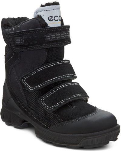 Ботинки мембранные черные Ecco