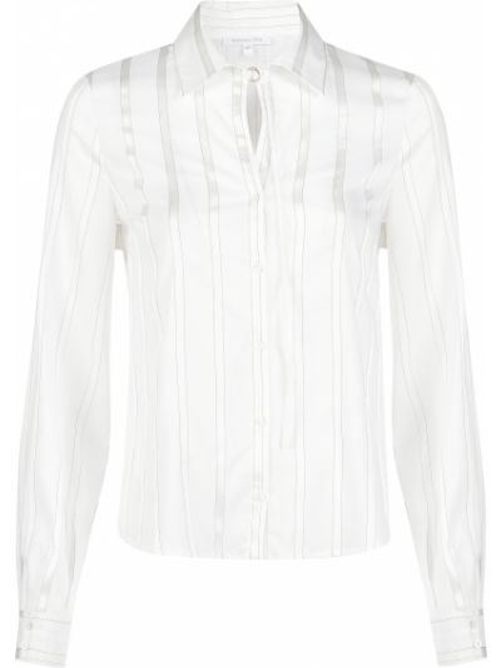 Хлопковая блузка - белая Patrizia Pepe