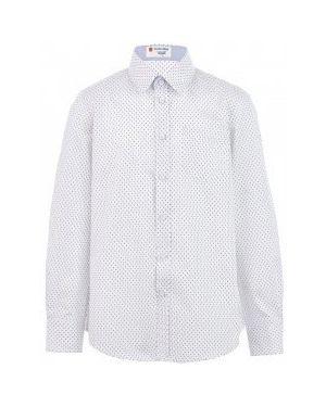 Рубашка белая Button Blue