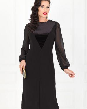 Шифоновое платье - черное Taiga