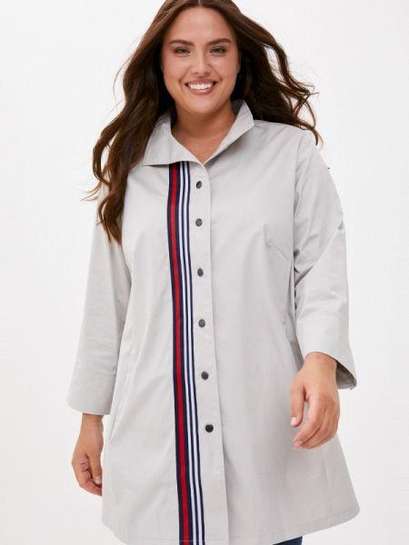 Серебряная блузка с длинным рукавом с длинными рукавами Silver String