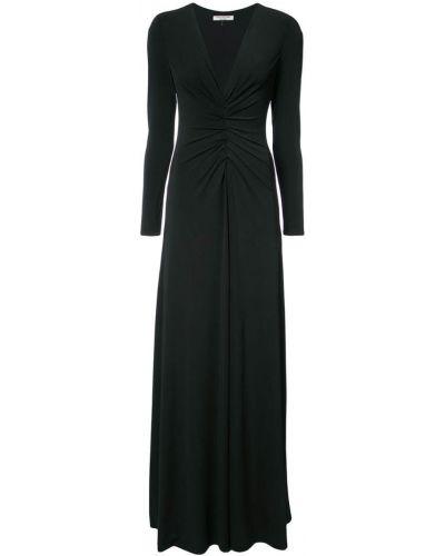 Платье со складками Halston Heritage