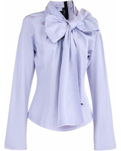 Блузка с бантом приталенная Marc Jacobs