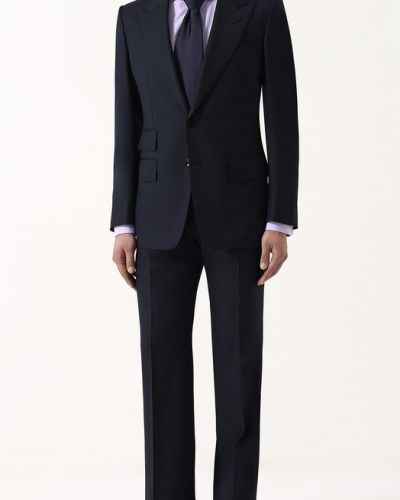 Костюм шелковый шерстяной Tom Ford