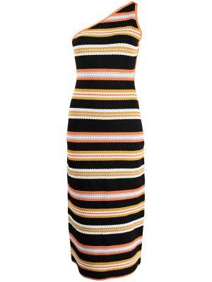 Трикотажное платье миди - оранжевое Alice Mccall