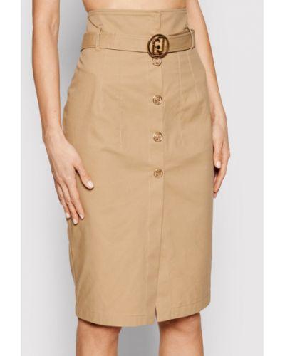 Brązowa spódnica ołówkowa Liu Jo